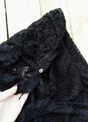 Роскошная кружевная кофточка, блуза4