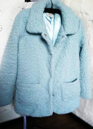 Трендовая шубка пальто из искусственного меха3