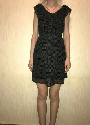 Платье в горошек1
