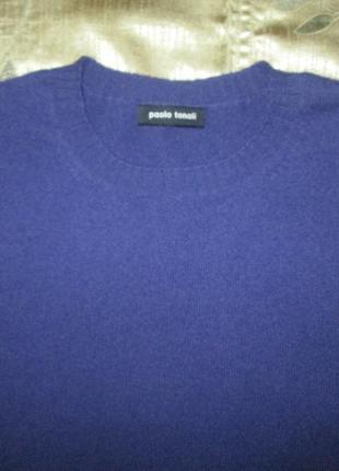 Кашемировый жилет кофта paolo tonali свитер безрукавка 100% кашемир италия3