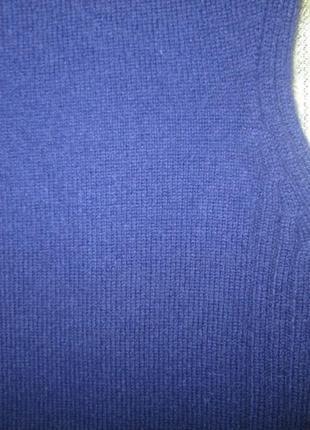 Кашемировый жилет кофта paolo tonali свитер безрукавка 100% кашемир италия5