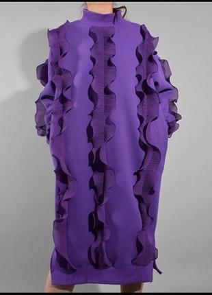 Платье толстовка оверсайз1