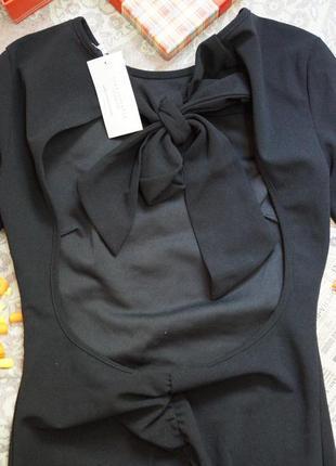 Платье с вырезом4