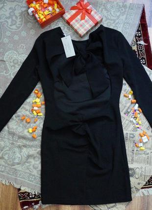 Платье с вырезом3