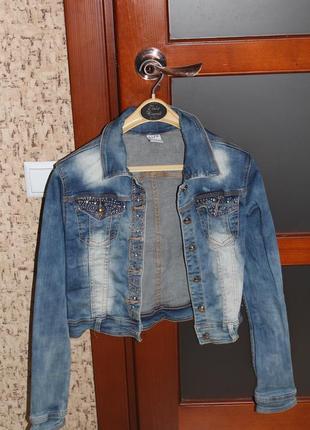 Джинсовий піджак1