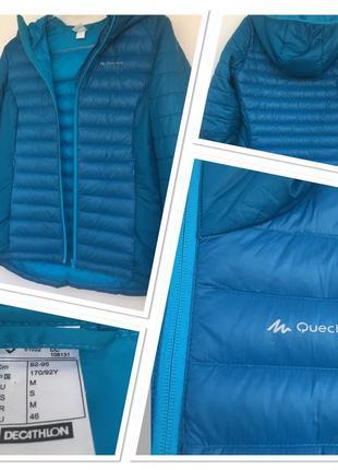 Ультра тонкий куртка -пуховик quechua1