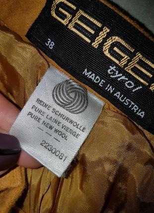 Жгуче-яркая и остро-модная: шерстяная юбка-кюлоты горчичного цвета!!!4