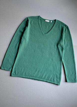 Кашемировый джемпер свитер p.xxl-xxxl 100% кашемир  donna lane company1