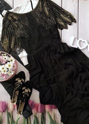 Шикарное вечернее платье1