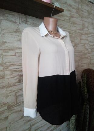 Комбинировая блуза zara2