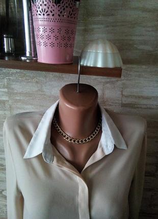 Комбинировая блуза zara3