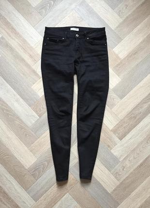 Чёрные штаны скинни zara 💔5