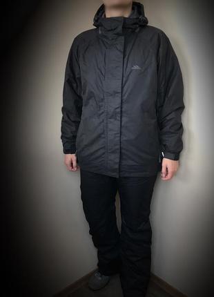 Треккиговая, лыжная куртка ( костюм) trespass waterproof 2.000 (l)1