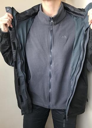 Треккиговая, лыжная куртка ( костюм) trespass waterproof 2.000 (l)4