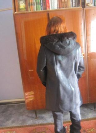 Дубленка  зимняя2