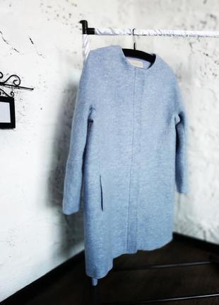 Трендовое шерстяное пальто zara3
