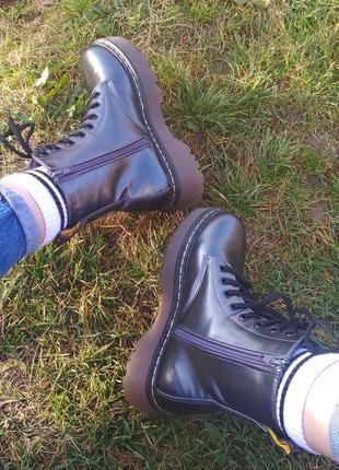 Женские ботинки dr. martens jadon 8-eye boot1