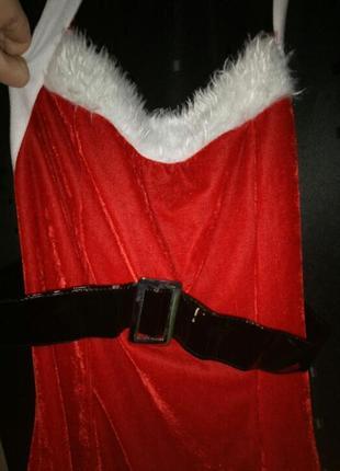 Новогодний костюмчик для девушки.3