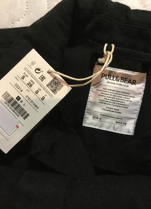 Пиджак кардиган коттон объёмный pull&bear размер s5