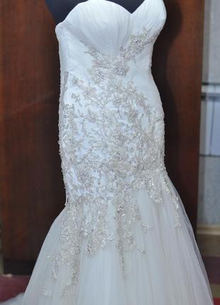 Свадебное платье рыбка2