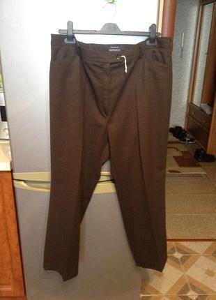 Шерстяные классические брюки бренда brax1