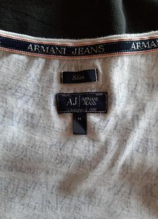 Футболка принт оригинал armani jeans раз.м4
