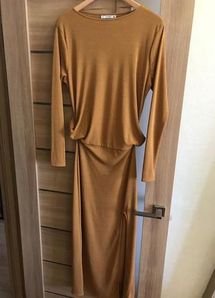Pull&bear платье стильное длинное1