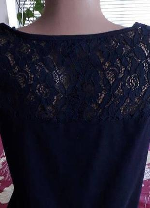 Блуза с ажурной спинкой. германия.  44-461