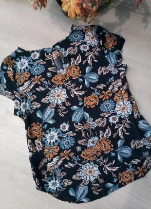 Блуза цветочный принт от бренда h&m2