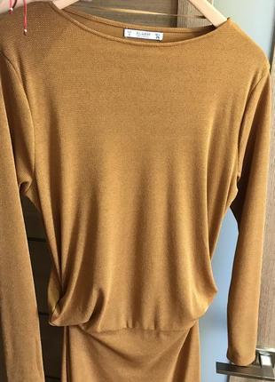 Pull&bear платье стильное длинное4