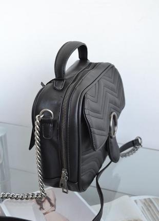 Сумка женская кросс-боди черная s01-06432