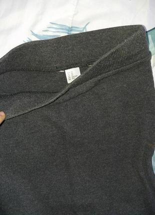 Трикотажная юбка карандаш миди от h&m1