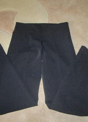 Школьные темно синие брюки на девочку