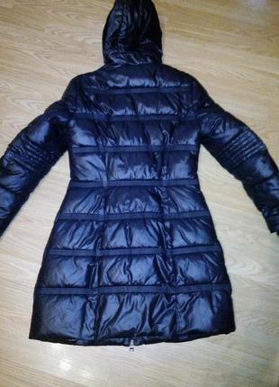 Фирменное пальто длинная куртка. 40-42 р( xs-s)5