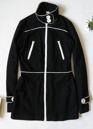 Замшевое пальто divided удлиненное пальто1