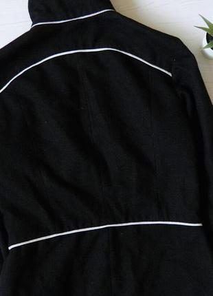 Замшевое пальто divided удлиненное пальто3