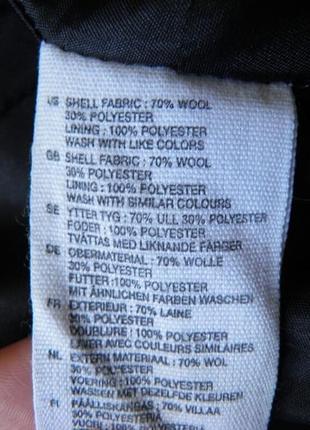 Замшевое пальто divided удлиненное пальто5