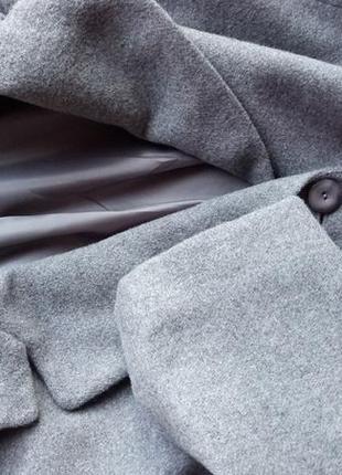 Актуальное шерстяное пальто4