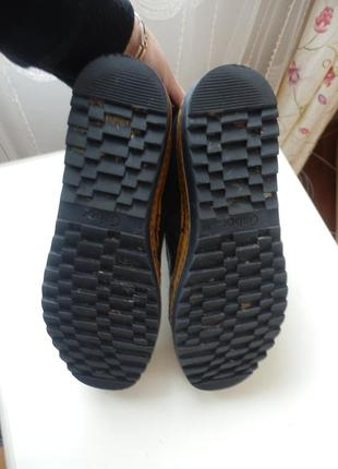 Кожаные ботинки gabor 6,5р 26,5см5
