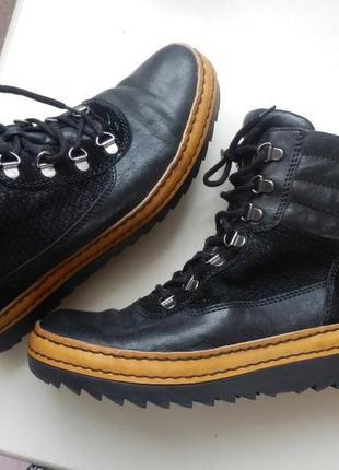 Кожаные ботинки gabor 6,5р 26,5см1