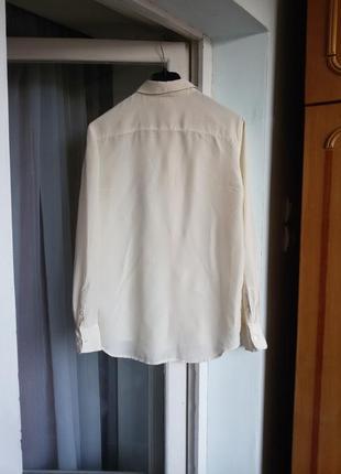 Шелковая рубашка h&m 100% шелк3