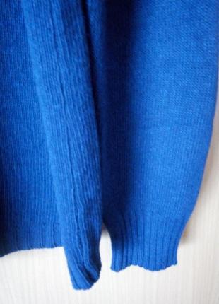 Теплый свитер 52/54 р шикарный состав5