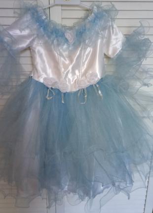 Бальное платье для маленькой феи