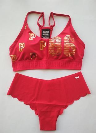 Комплект спортивный victoria's secret pink оригинал1
