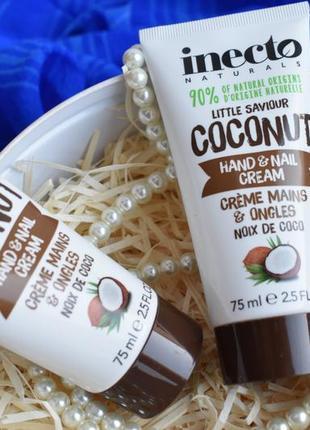 Inecto naturals coconut hand and nail cream (75 ml)2