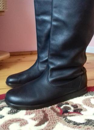 Шкіряні чоботи на осінь1