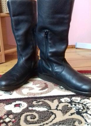Шкіряні чоботи на осінь2