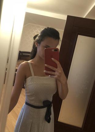Плаття в горошок2