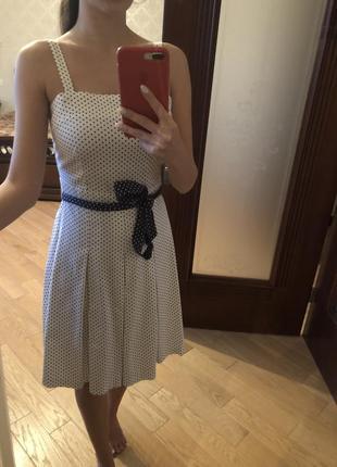 Плаття в горошок3