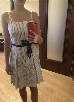 Плаття в горошок4